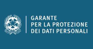 Logo garante della privacy